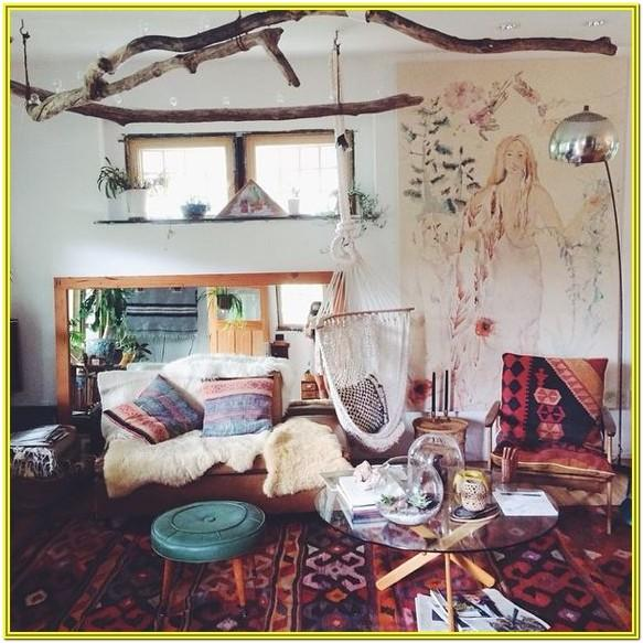 Small Bohemian Living Room Ideas
