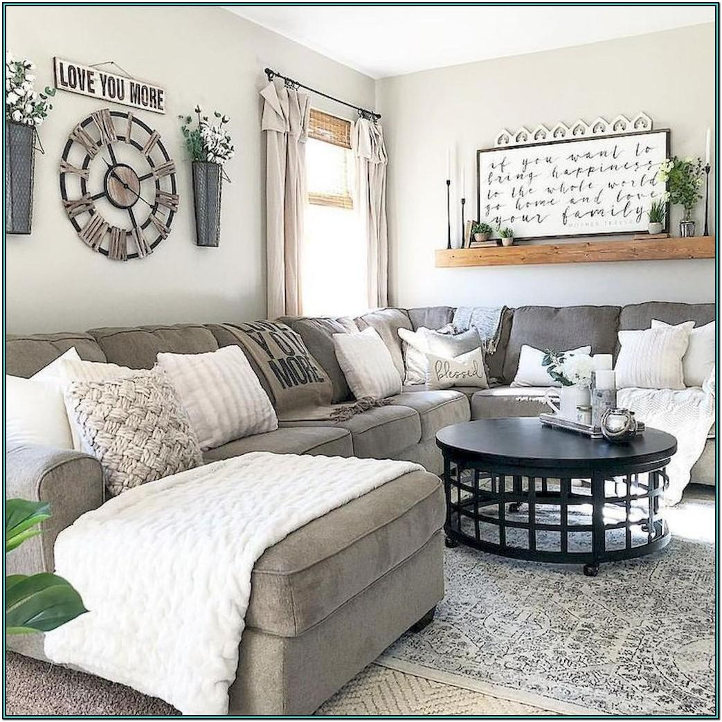 Small Farmhouse Style Living Room Ideas