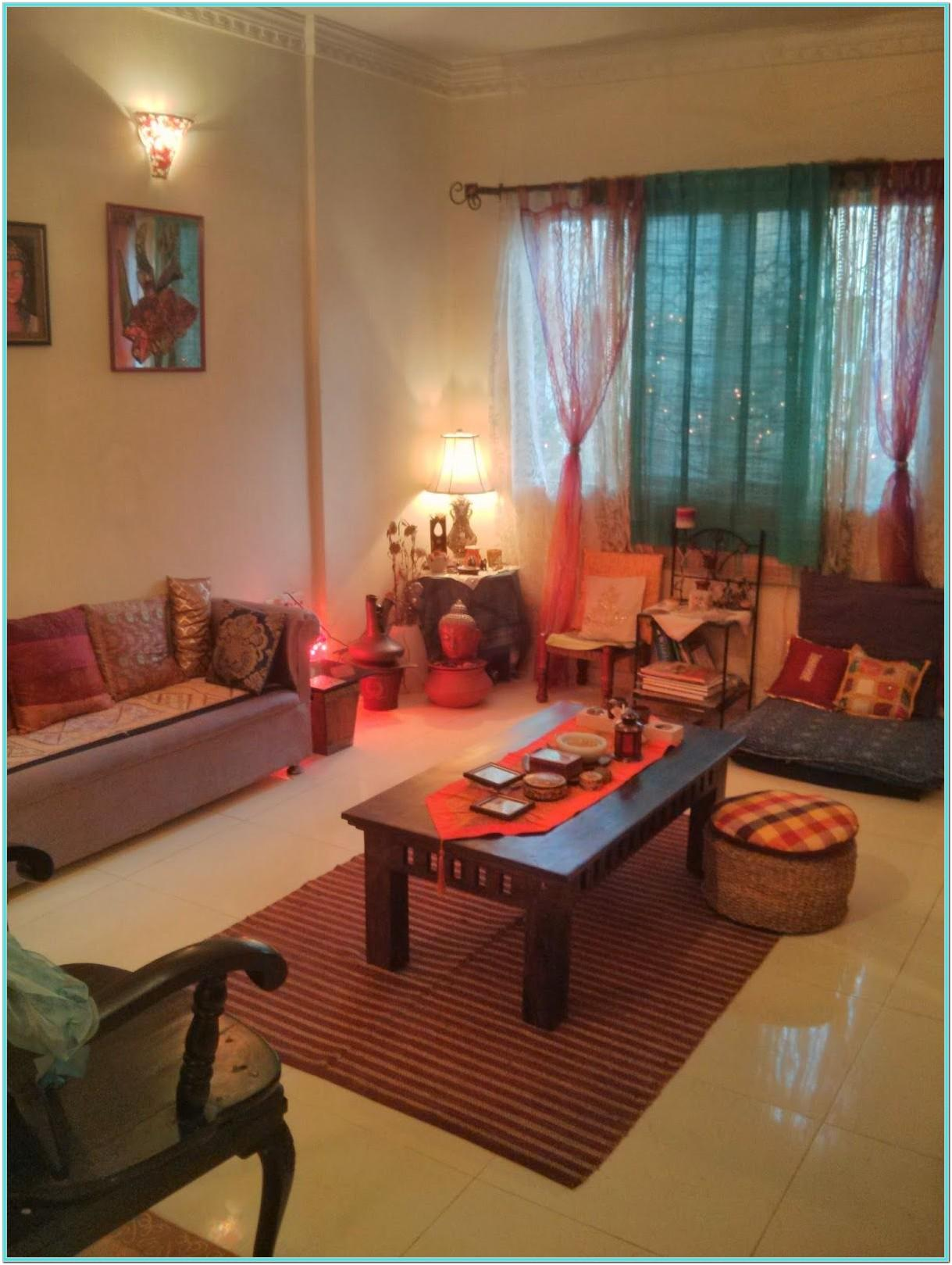 Small Living Room Ideas Indian