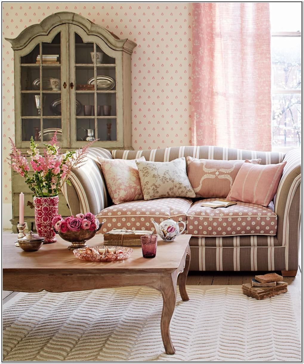 Small Living Room Ideas Pink