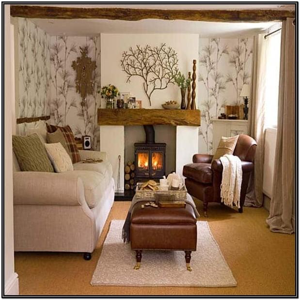 Small Space Small Living Room Fireplace Ideas