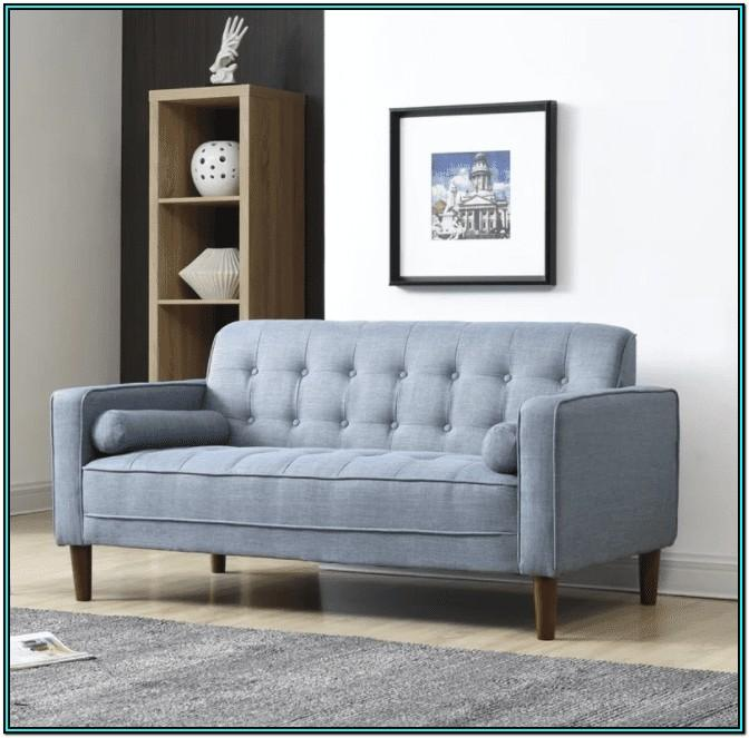 Sofa And Loveseat In Small Living Room