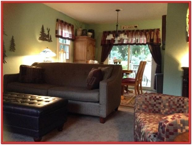 Split Living Room Dining Room Ideas