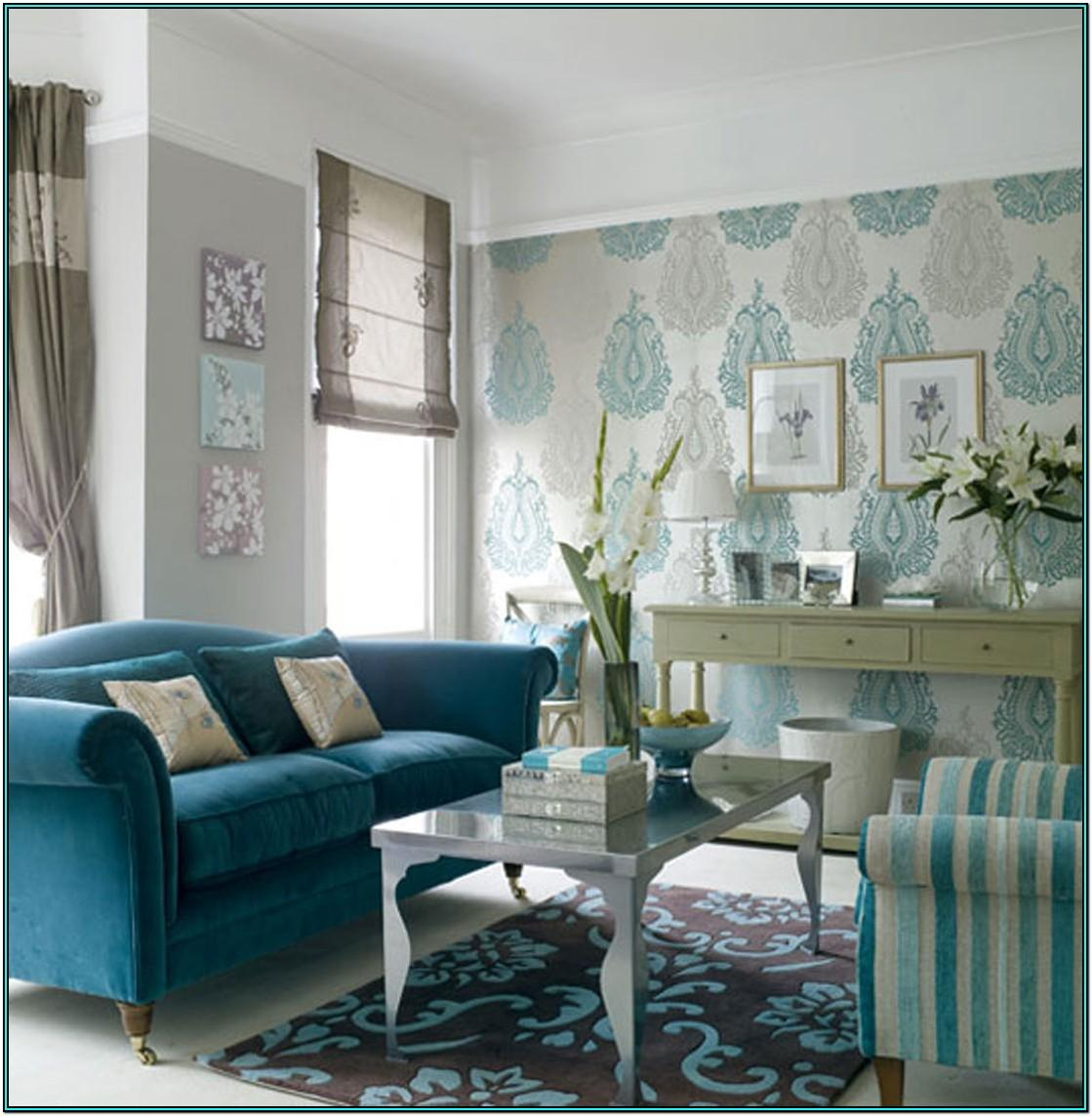 Turquoise Accents Grey And Turquoise Living Room Ideas