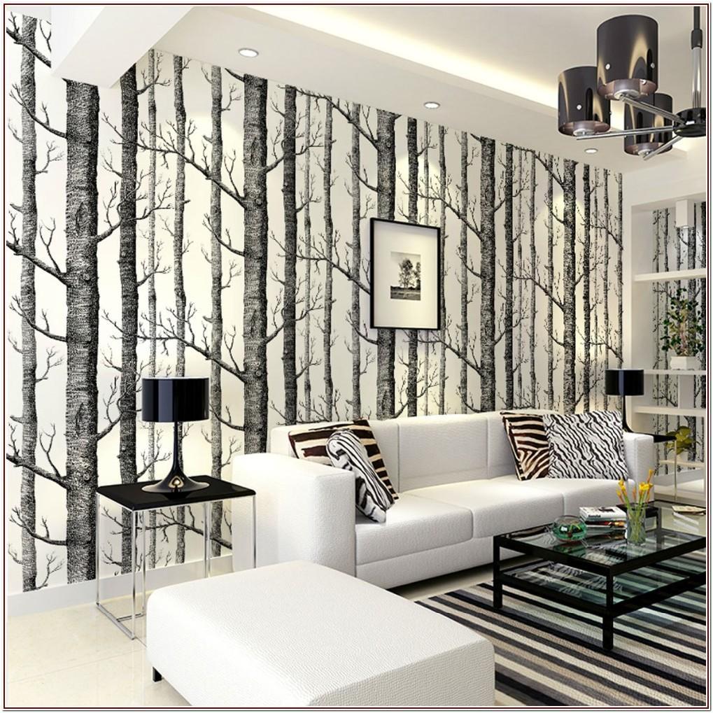 Unique Modern Luxury Wallpaper For Living Room