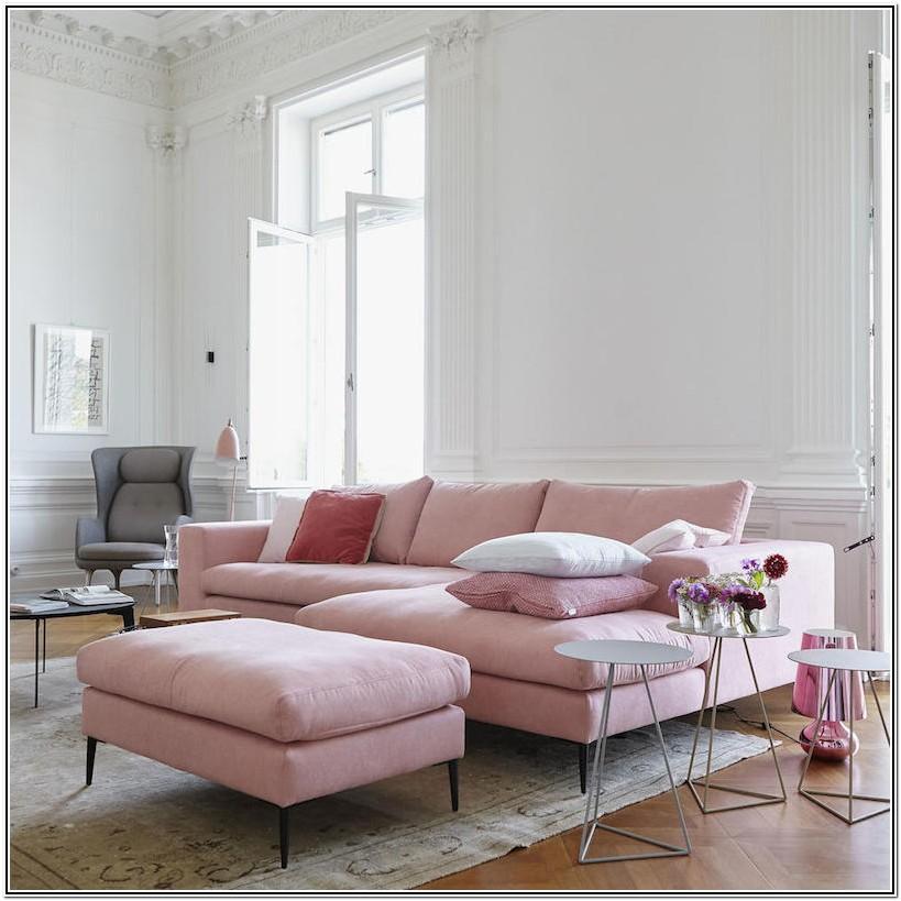 Velvet Sofa Pink Sofa Living Room Ideas