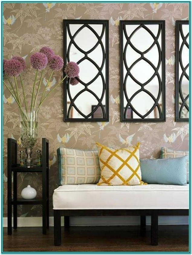 Wall Mirror Design For Living Room