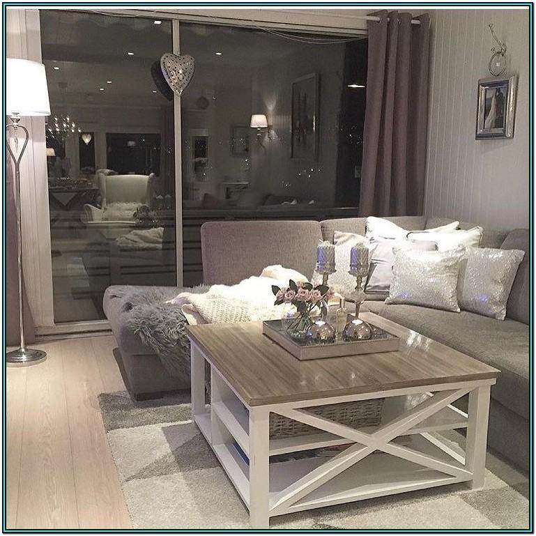 White Coffee Table Living Room Ideas