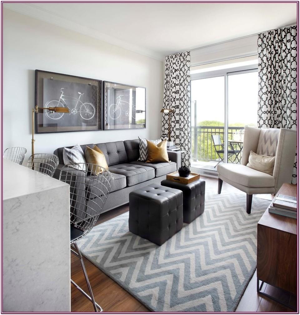 White Jute Rug Living Room
