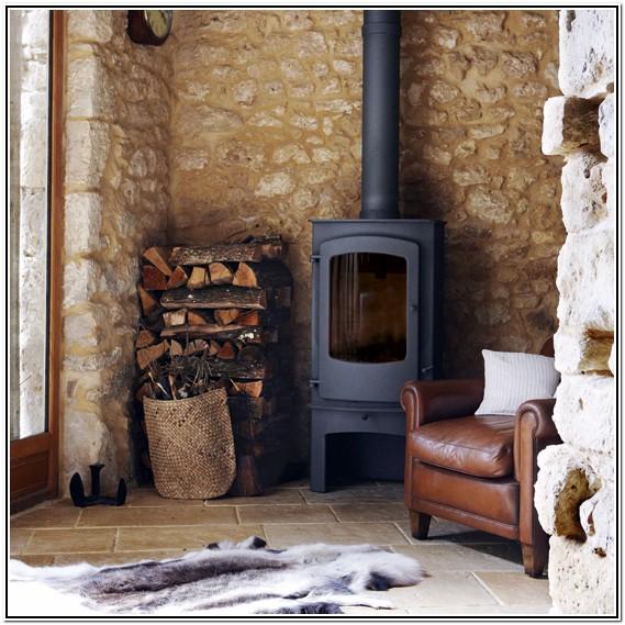 Wood Burning Stove Living Room Ideas