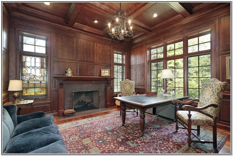 Wood Paneling Living Room Decorating Ideas