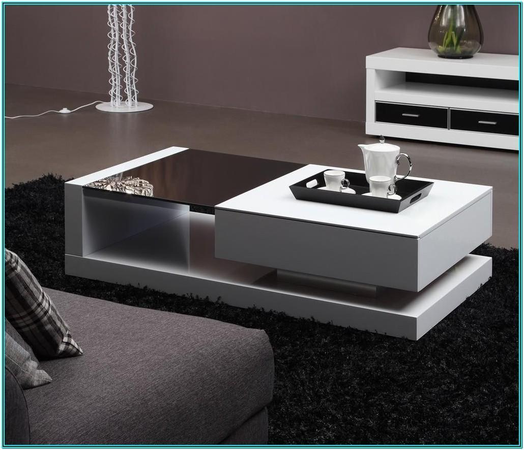 Wooden Modern Center Table For Living Room