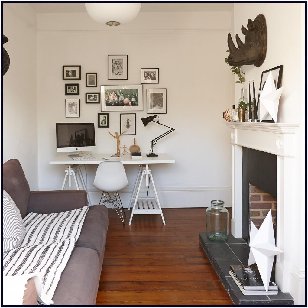 Apartment Living Room Office Combo Ideas