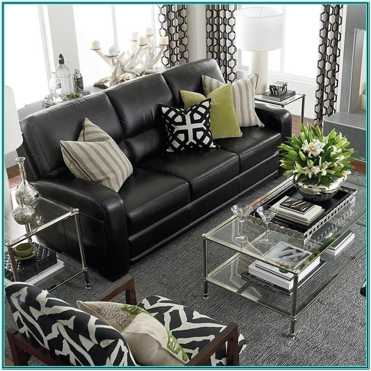 Black Sectional Sofa Living Room Ideas