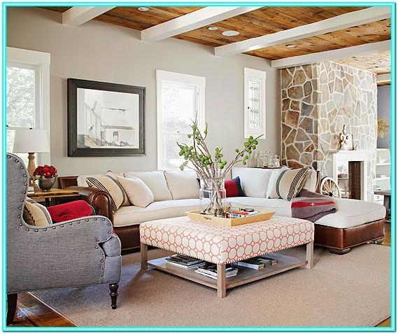 Cabin Living Room Decorating Ideas