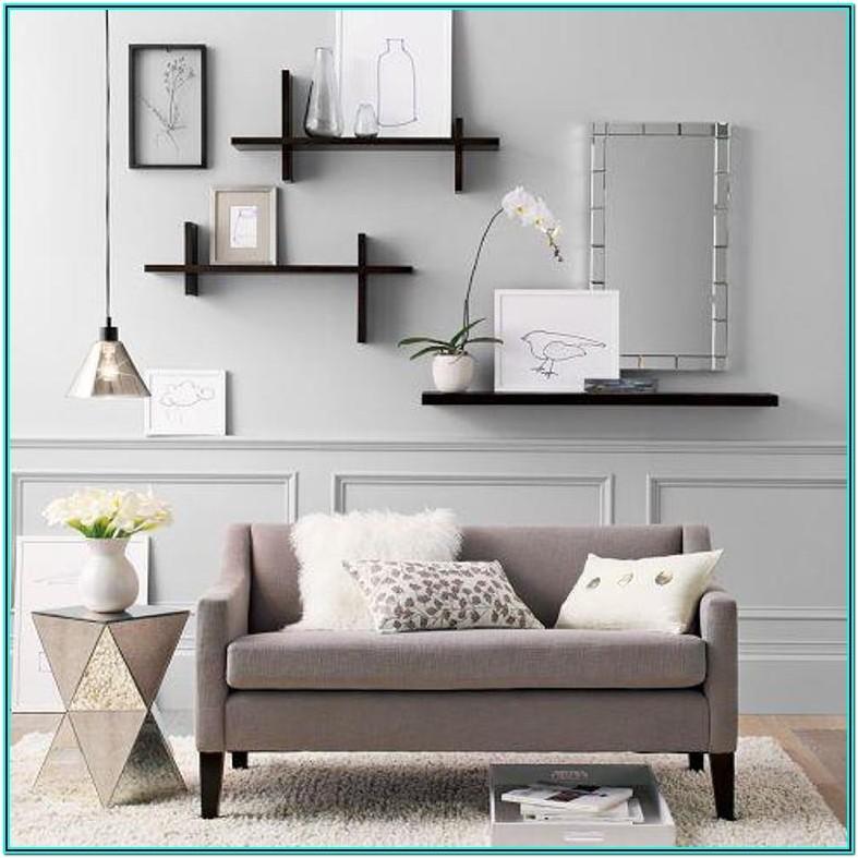 Contemporary Living Room Shelf Ideas
