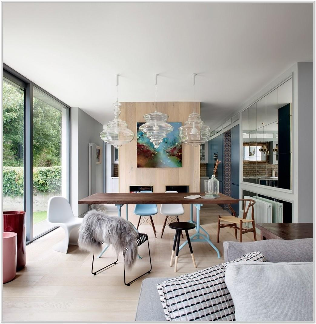 Contemporary Modern Living And Dining Room Ideas