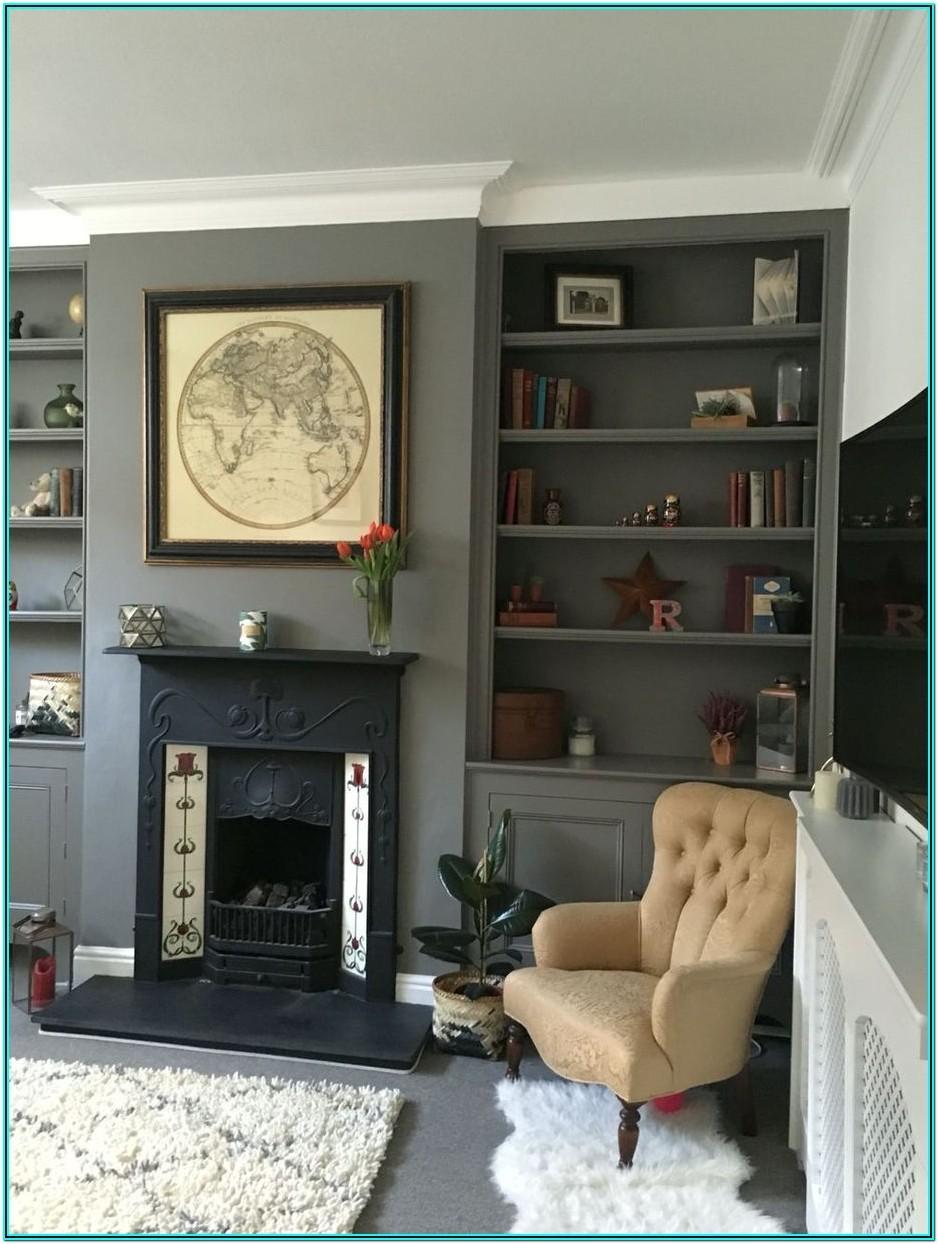 Decorating Living Room Shelf Ideas
