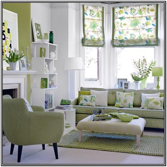 Green Modern Living Room Colour Ideas