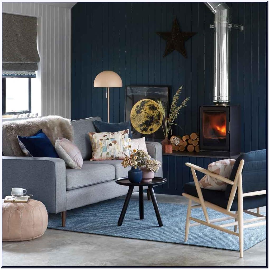 Grey And Ochre Living Room Ideas