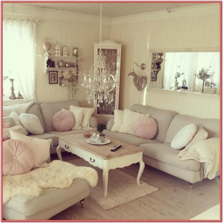 Grey Modern Shabby Chic Living Room Ideas