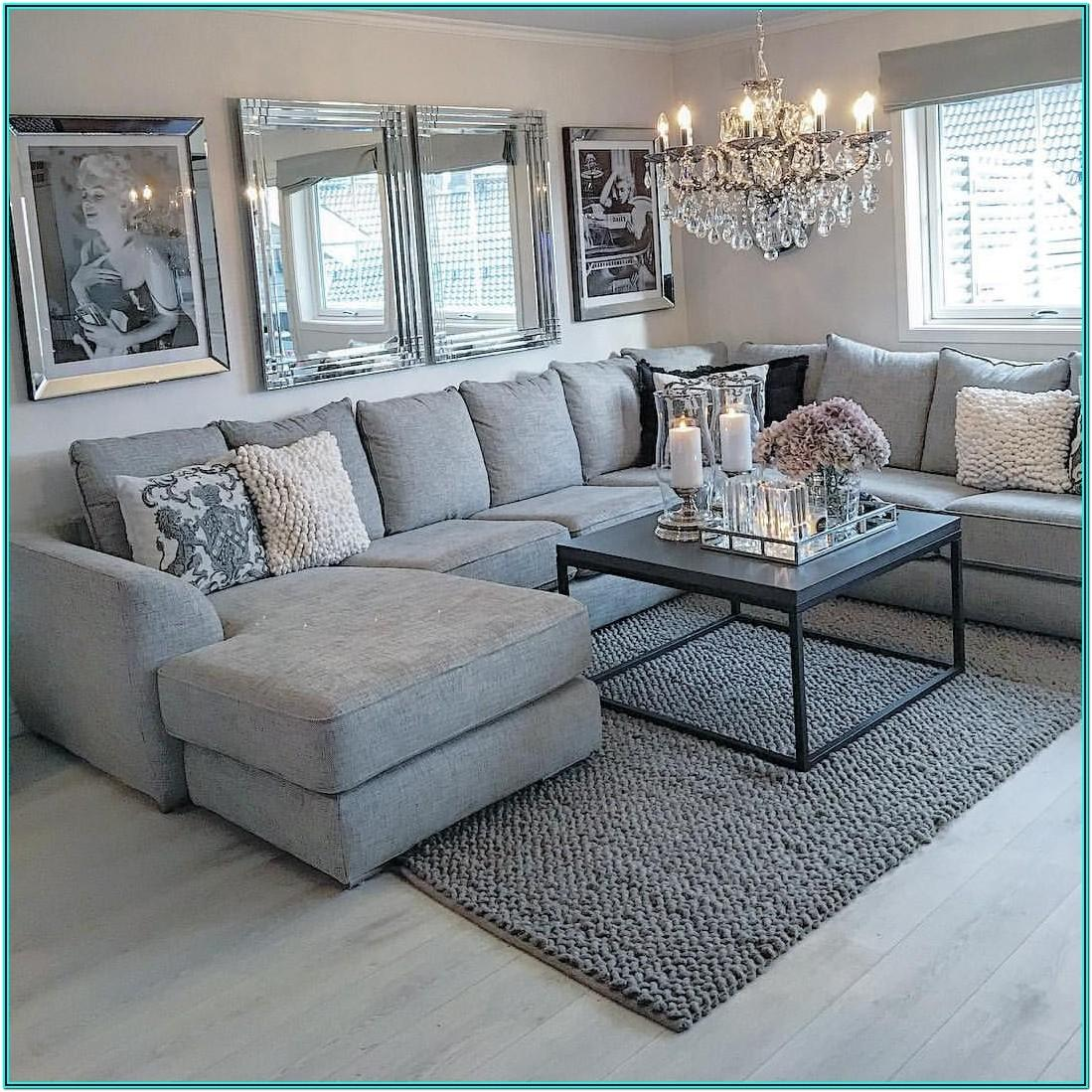 Grey Sectional Sofa Living Room Ideas