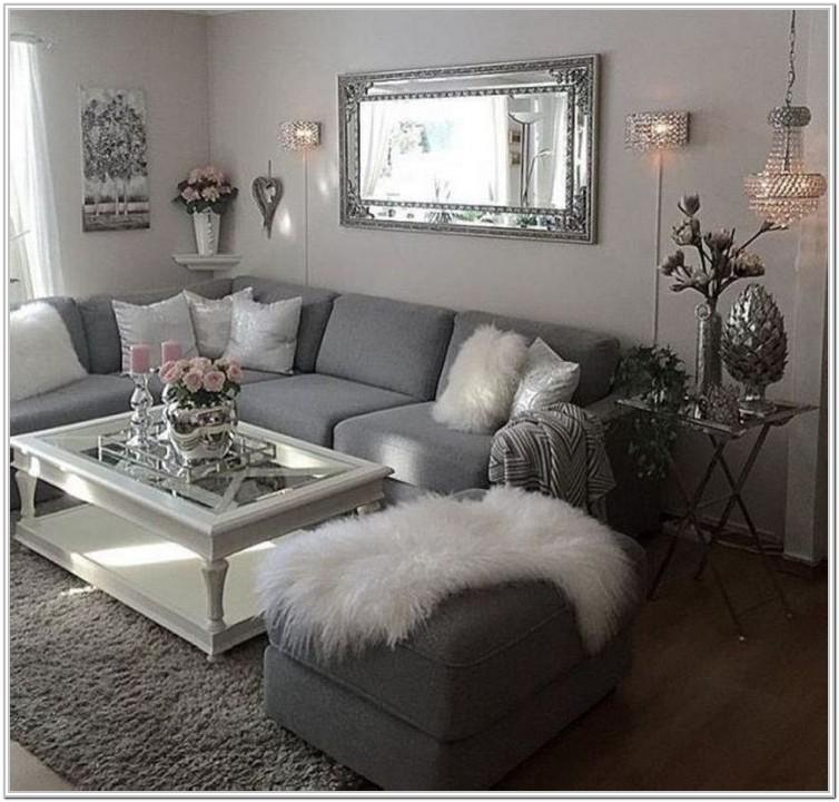 Grey Small Space Modern Small Living Room Ideas