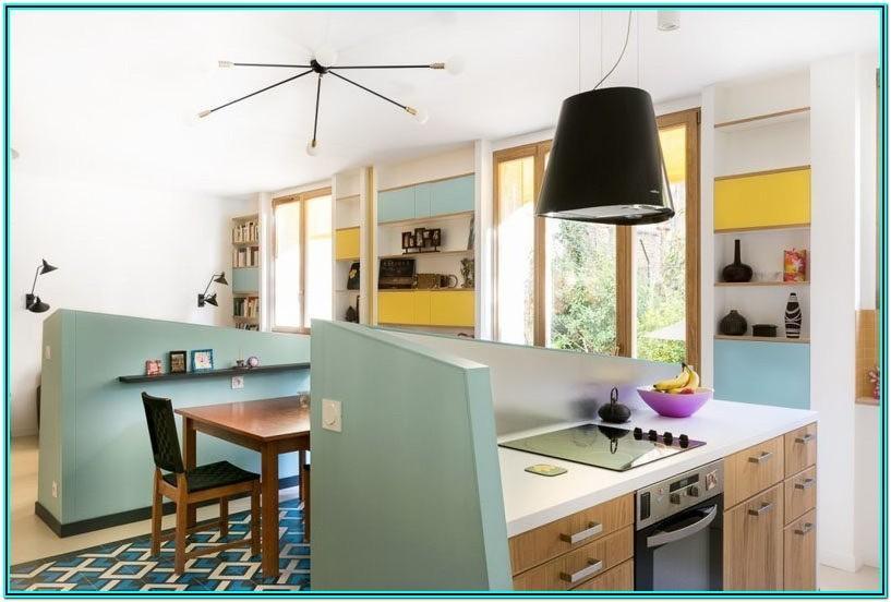 Kitchen Living Room Separation Ideas