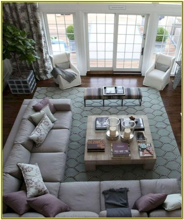 Large Square Living Room Layout Ideas