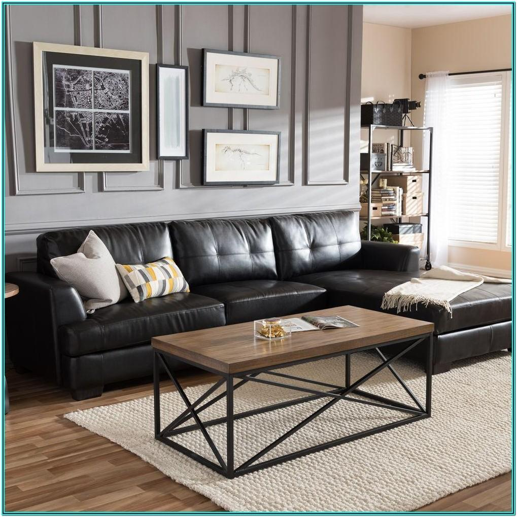 Leather Sectional Sofa Living Room Ideas