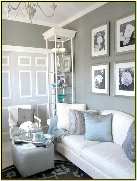 Light Gray And White Living Room Ideas