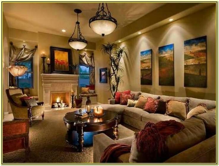 Living Room Home Interior Lighting Design Ideas