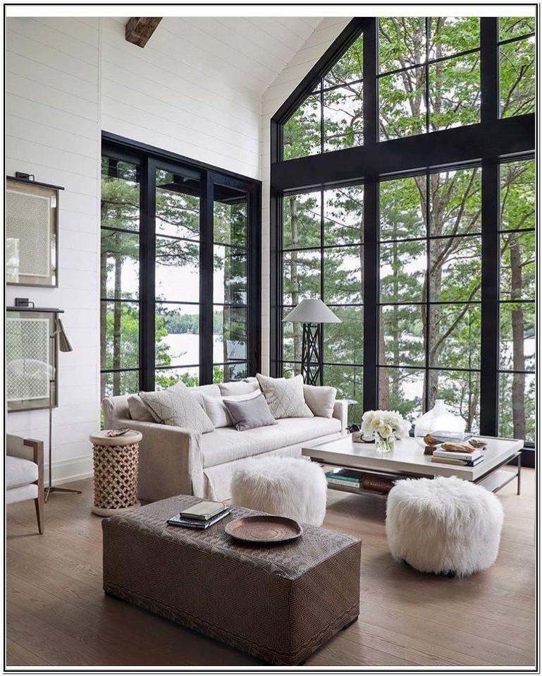 Living Room Ideas With Big Windows