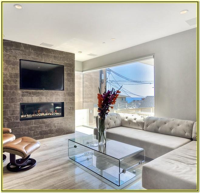 Living Room Ideas With Marble Fireplace