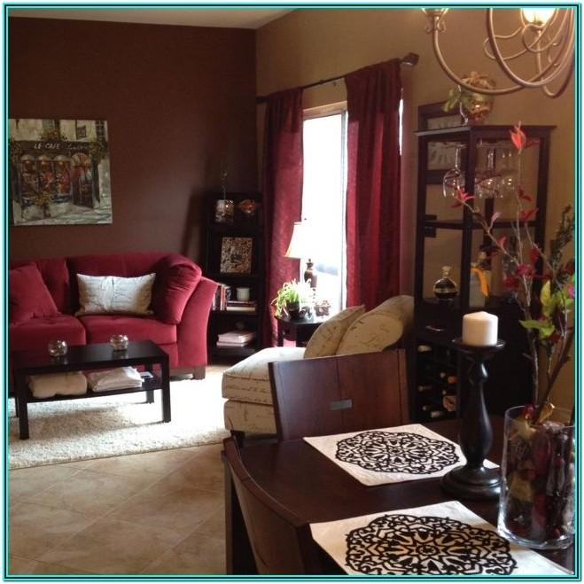Living Room Ideas With Maroon Couch
