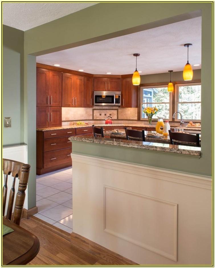Living Room Kitchen Separation Ideas