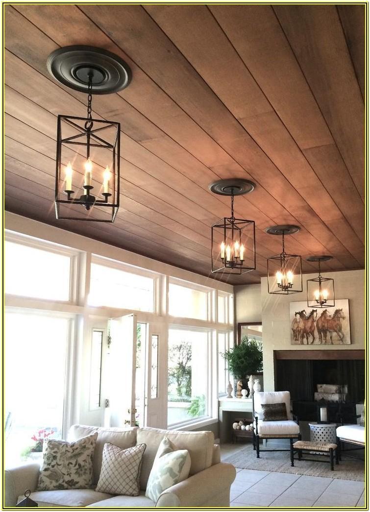 Living Room Lighting Ideas Wood