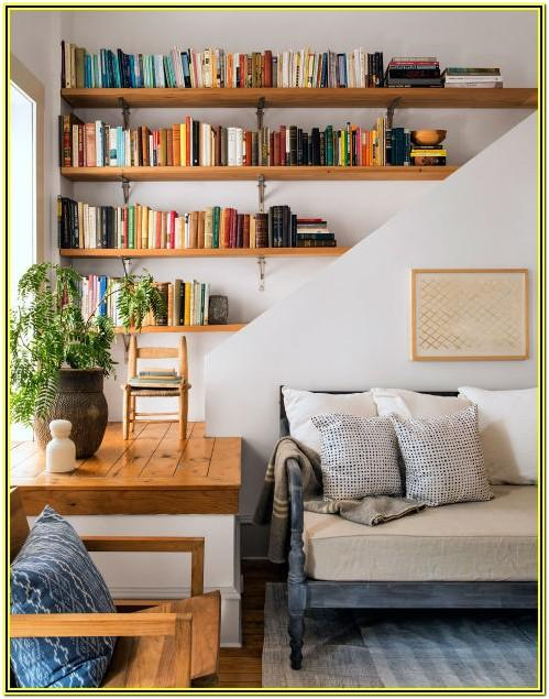 Living Room Loft Display Shelf Ideas