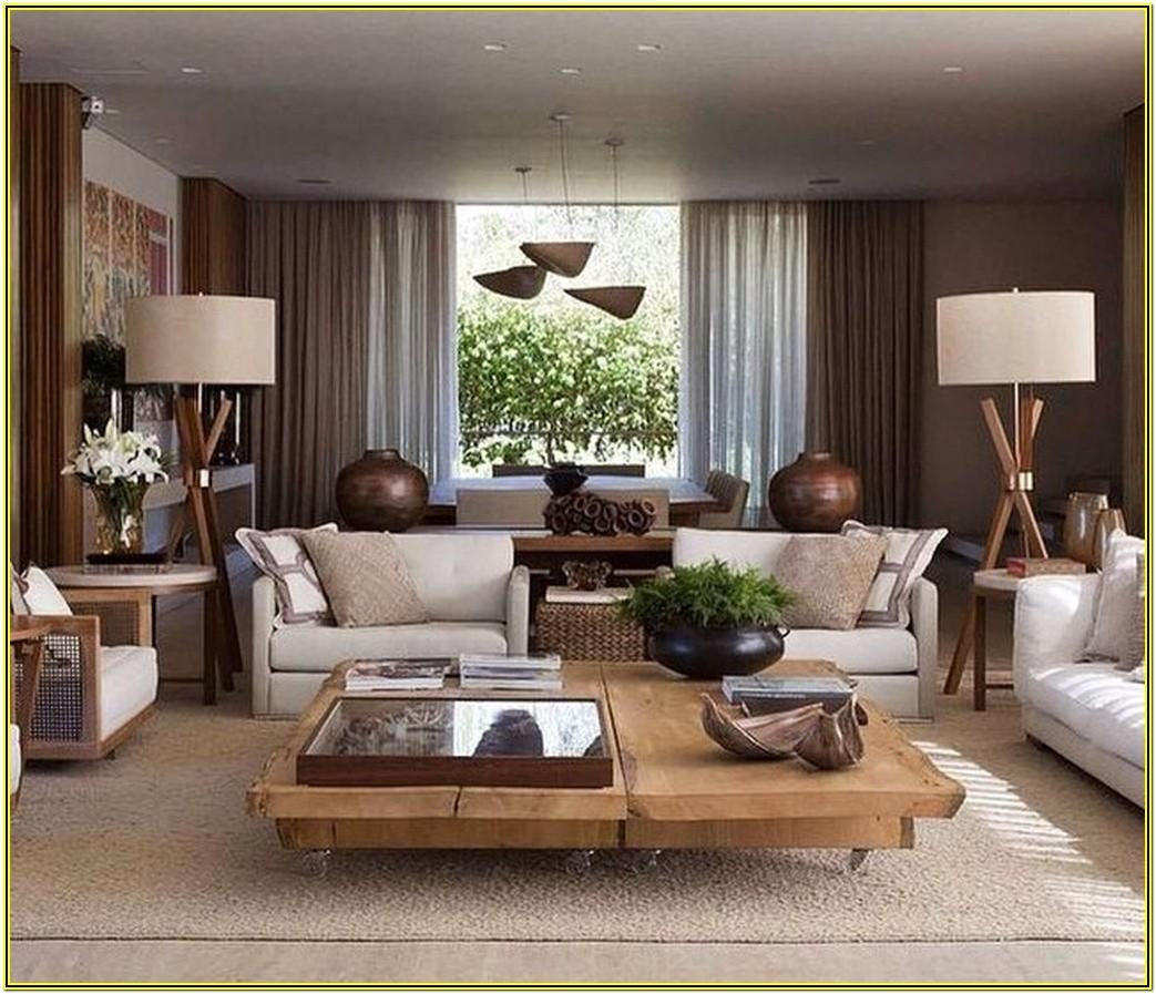 Living Room Makeover Ideas Earth Tones