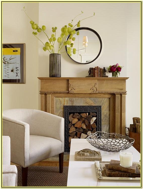 Living Room Mantel Decor Ideas