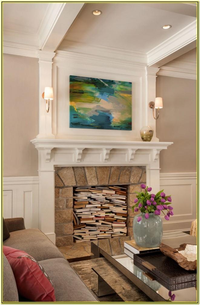 Living Room Mantel Ideas