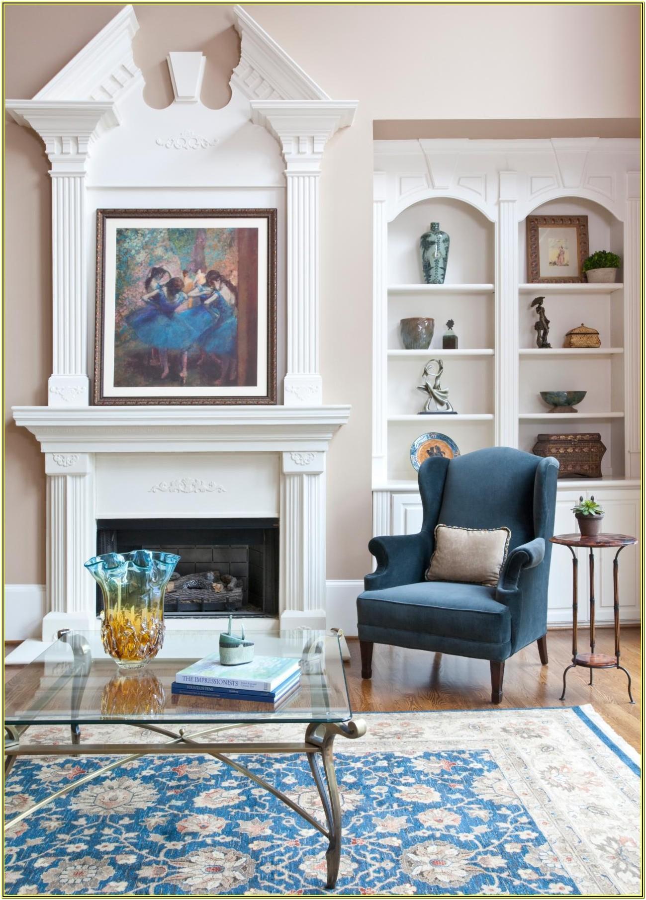 Living Room Mantle Piece Ideas
