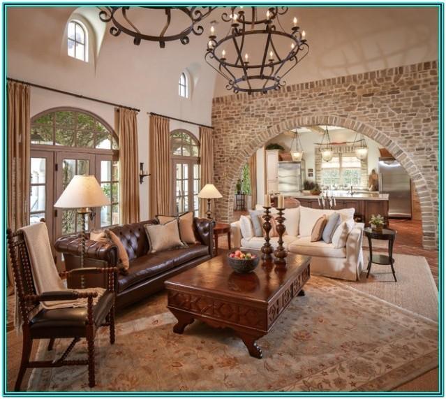 Living Room Mediterranean Decor Ideas