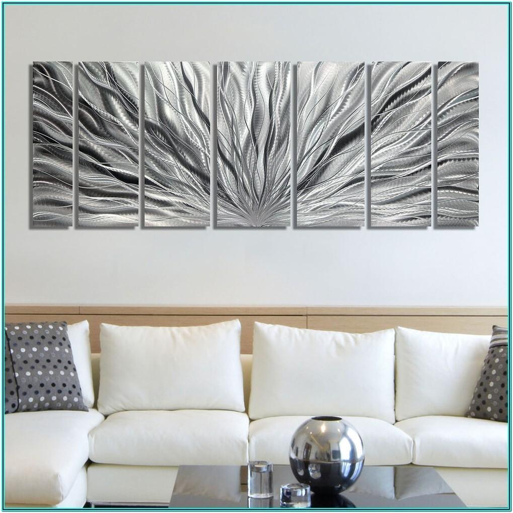 Living Room Metal Wall Art Ideas
