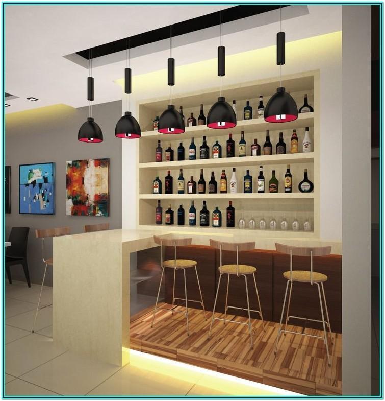 Living Room Mini Bar Counter Ideas