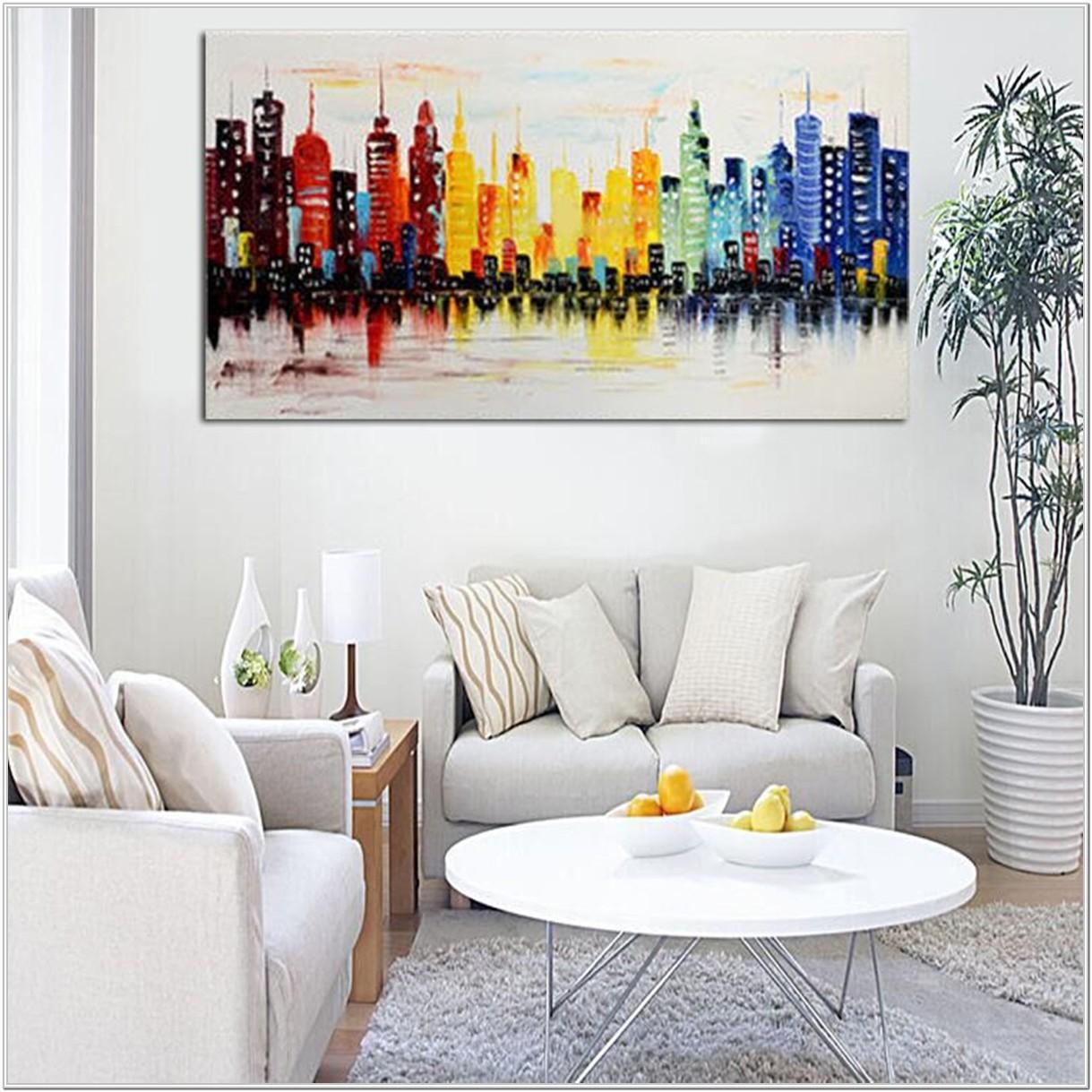 Living Room Modern Living Room Wall Art Ideas