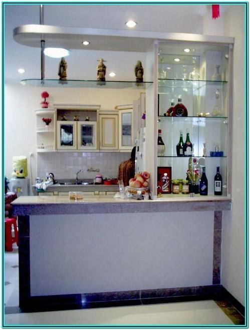 Living Room Modern Mini Bar Ideas