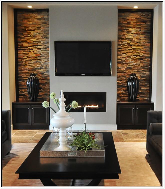 Living Room Modern Wall Design Ideas