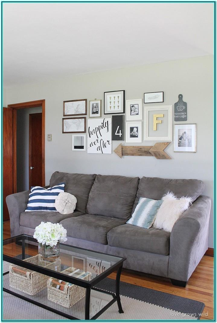Living Room Museum Wall Ideas