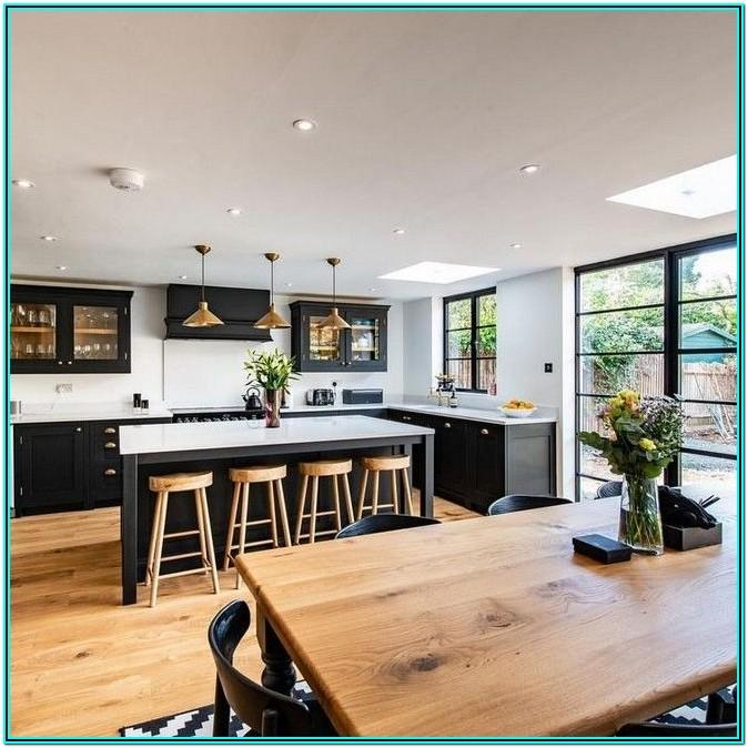 Living Room Next To Kitchen Ideas